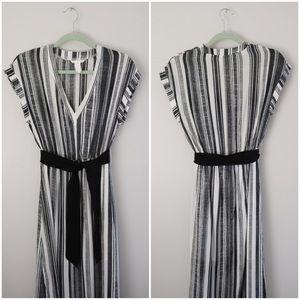 Summery Striped Maxi Dress